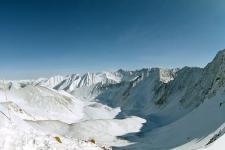 Вид с перевала Шумак в долину р.Шумак