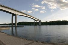 Мост в Puumala